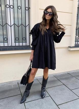Мини платье zara