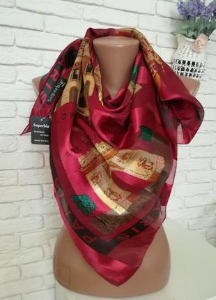 Большой роскошный платок 92*97