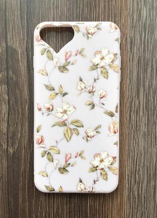 Чехол для айфона 7 плюс iphone 7 plus цветочный кейс для смартфона
