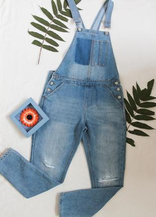 🌿 джинсовый комбинезон от denim co, размер s