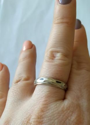 Винтажное кольцо. кубачинские мастера