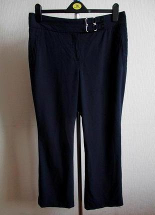 Sale -50%! классические темно-синие брюки marks&spencer