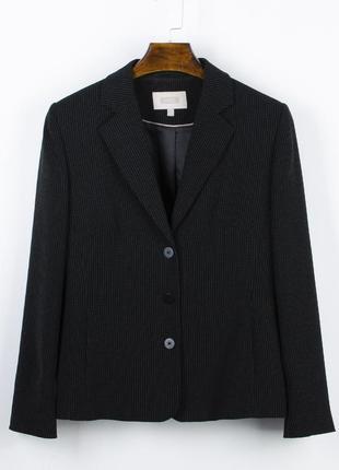 Классический пиджак двубортный, оверсайз пиджак, женский жакет черный