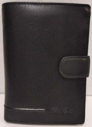 Мужской кожаный кошелёк las fero 20-01-041