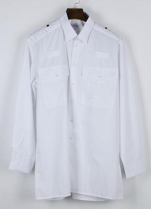 Оверсайз белая рубашка