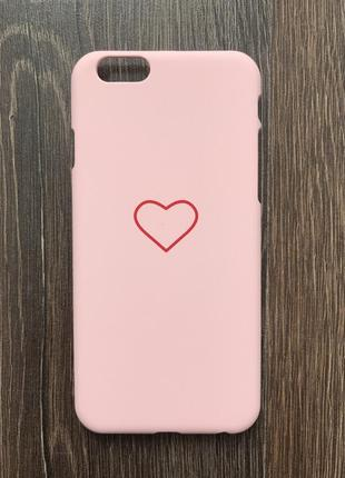 Чехол для айфона 6/6s iphone серце кейс для смартфона