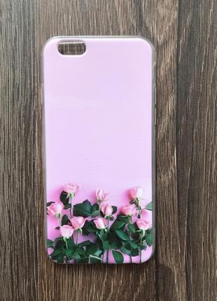 Чехол для айфона 6/6s iphone розы кейс для смартфона