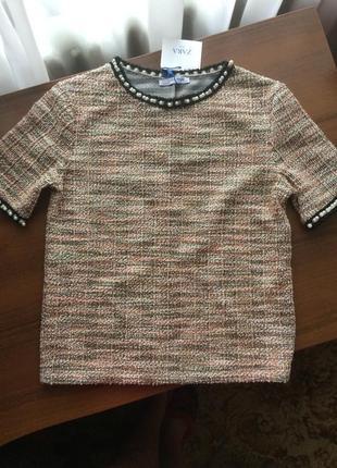 Блузка zara, размер 44/s