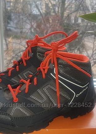 Новые демисезонные ботинки qwechua