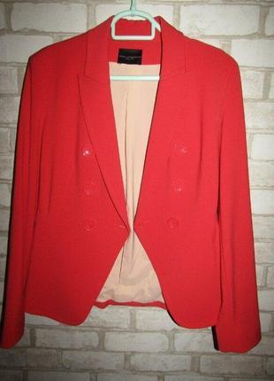 Стильный пиджак р-р 12 бренд atos lombaroini