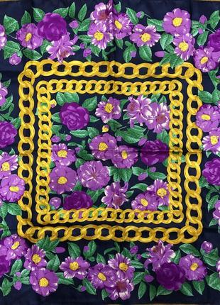 Шикарный платок шарф под chanel