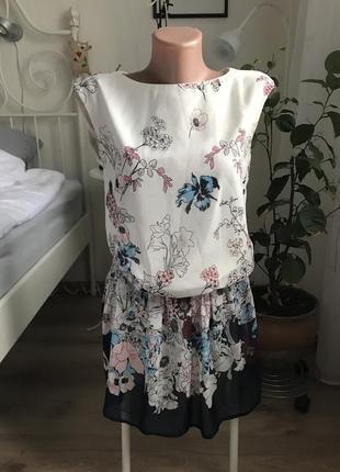 Платье летнее с подкладкой легкое