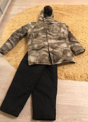 Зимний костюм до -30, комфортный и теплый , для рыбалки и охоты 52-54р.