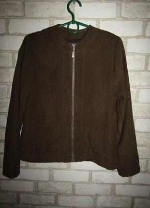 Стильный пиджак жакет кардиган р-р xs-s сост нового