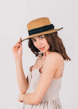 Очень модные шляпы канотье!