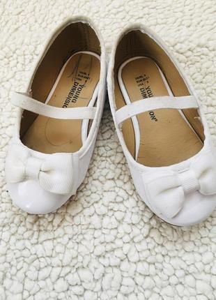 Белые туфельки от young dimension