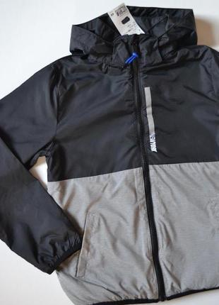 Спортивная куртка с флисовой байкой внутри h&m (сша)