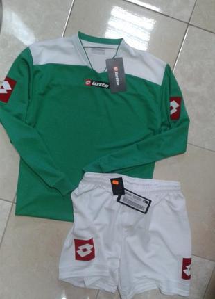Оригинал! футбольная форма кофта и шорты lotto италия