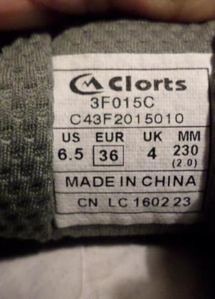Кроссовки  женские clorts размер 232