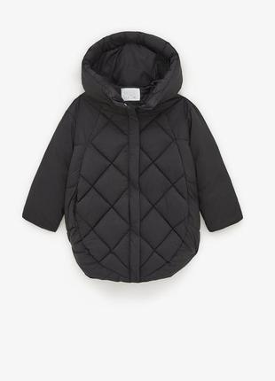 Стьогана куртка з капюшоном, 8 лет, рост 128 см zara ! оригінал