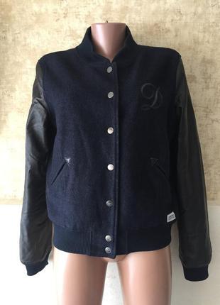 Куртка бомбер шерсть dobber дефект