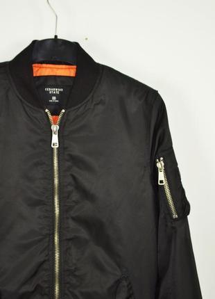 Cedarwood state size s бомбер черный куртка весенняя