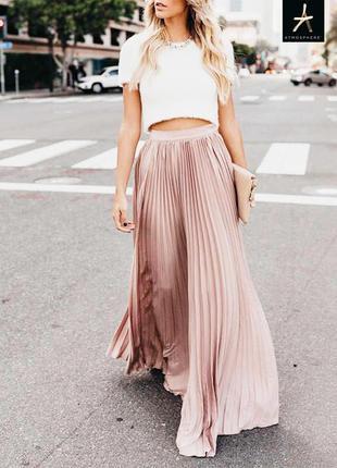 Плиссированная юбка в пол atmosphere