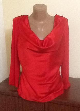 Красивая блуза с шелком  от karen millen