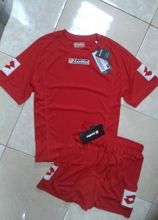 Оригинал! футбольная форма футболка и шорты lotto италия