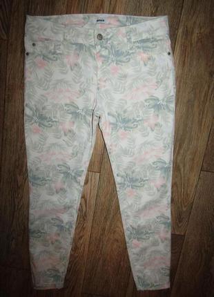 Укороченные джинсы брюки р-р м бренд pimkie
