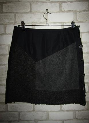 Стильная юбка р-р 38-12 бренд sicompany
