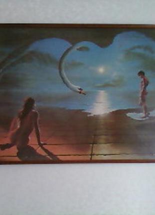 Картина на крыльях любви
