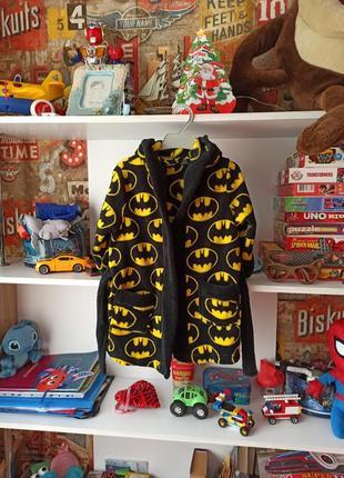 Халат rebel batman бэтмен на 2-3 года, 92-98 см