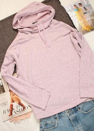 Розовое лавандовое худи размер хл champion