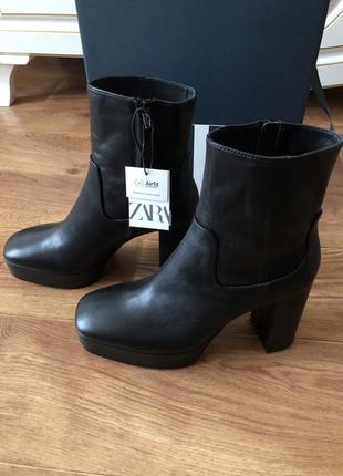 Сапоги ботиночки zara