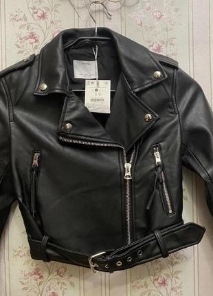 Новая куртка косуха bershka с бирками{выше 500,пишите свою цену}