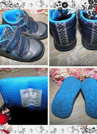 Обнова! ботинки clarks (р. 24, стелька 15см - на ножку 14см) сапожки сапоги крассовки