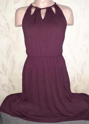 Платье с разной длиной с шлейфом