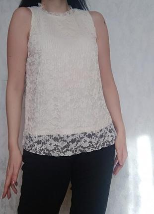 Ніжна плісировані блуза від  фірми н & м