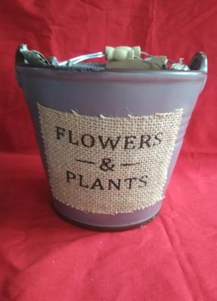 Набор кашпо, вазон, горшки для цветов