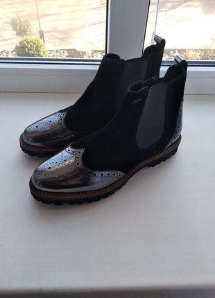 Немецкие ботинки - челси sioux, размер 41