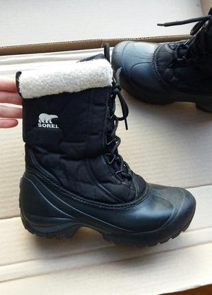 Р.37 sorel (оригинал) зимние ботинки.