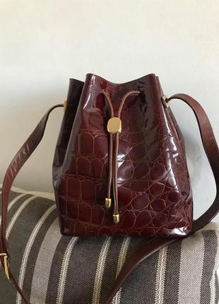 Кожаная сумка prestige by yenko italy