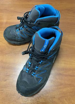 Зимние детские ботинки salomon climashield waterproof р.35
