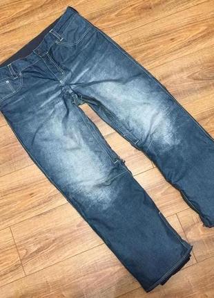 Лыжные штаны или для сноуборда термо tcm (германия) р.xl-2xl в идеале