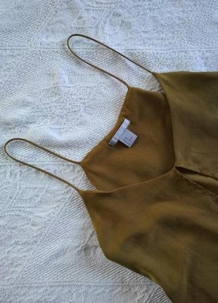 H&m майка хаки, блузка