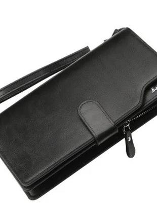 Мужской кошелек портмоне baellerry active new (172b) черный
