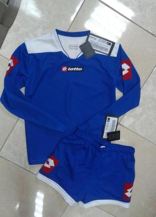 Оригинал! футбольная форма кофта и шорты 11-12 lotto италия