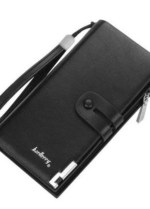 Мужской кошелек портмоне baellerry classical (s1065) черный