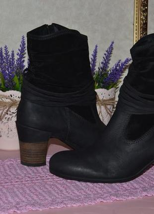Р. 40 - 26,5 см. полусапожки деми, женская обувь wolky